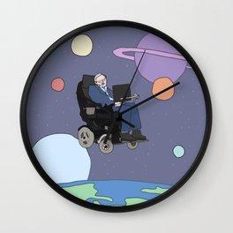 Stephen Hawking art Wall Clock