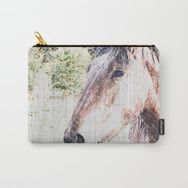 Sketchy Horse Carry-All Pouch