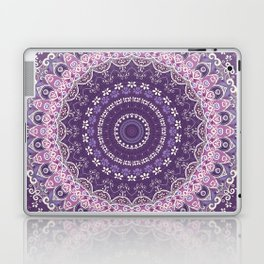 Purple Lace Mandala Laptop & iPad Skin