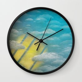Ode to Summer Nights (Version 2) Wall Clock