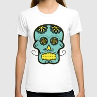 calavera T-shirts featuring Calavera  by Cody Wilkes-Booth