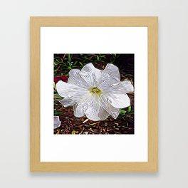 Enchanted Flower Framed Art Print