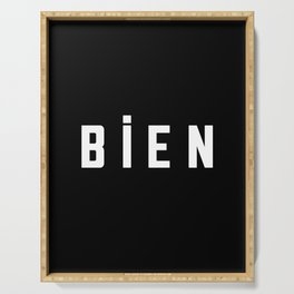 French New Wave - Bien Serving Tray