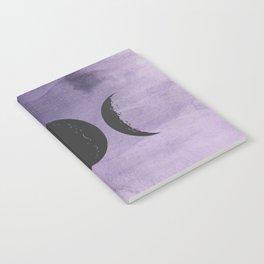 Triple Moon Goddess Notebook
