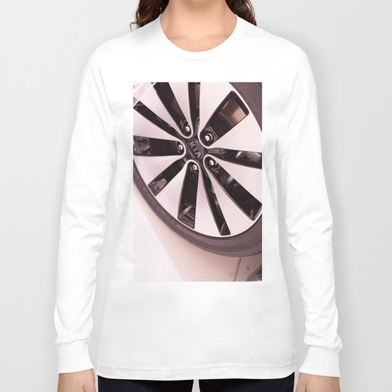 Kia Optima Wheel Long Sleeve T-shirt
