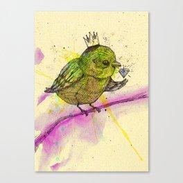 King Bird Canvas Print