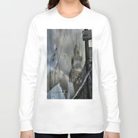 moscow Long Sleeve T-shirts featuring Moscow Reflected by Brandon Beacon Hill