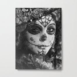 Autumn Muertos Metal Print