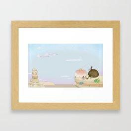 Sesame Tabi Framed Art Print