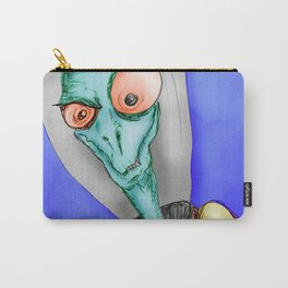 Pulpy pop retro Space Alien Carry-All Pouch