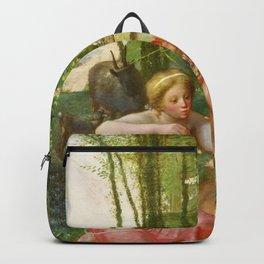 Jean-Francois Millet - Spring, Daphnis And Chloe - Digital Remastered Edition Backpack