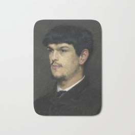 Claude Debussy (1862 – 1918) by Marcel Baschet, 1884 Bath Mat