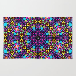 Arabesque kaleidoscopic Mosaic G519 Rug