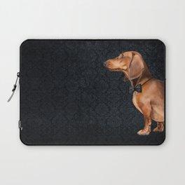 Elegant dachshund. Laptop Sleeve