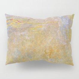 Sea-Roses (Yellow Nirwana) by Claude Monet Pillow Sham