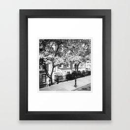 Soho Brownstone Framed Art Print