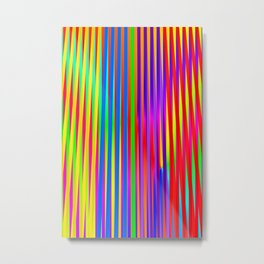 Play with stripes 15 Metal Print