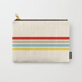 Brazilian Retro Stripes Carry-All Pouch
