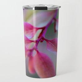Loves Pink Hope by Reay of Light Travel Mug