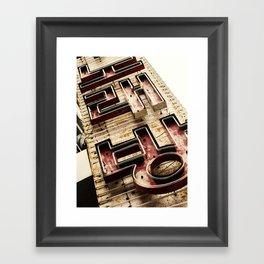 Noraebang Framed Art Print