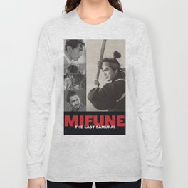 Mifune: The Last Samurai Long Sleeve T-shirt