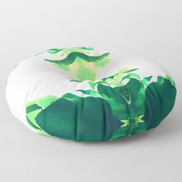 SPROUTING SYMMETRY Floor Pillow