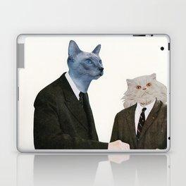 Cat Chat Laptop & iPad Skin
