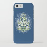 ganesh iPhone & iPod Cases featuring Ganesh by Scalifornian