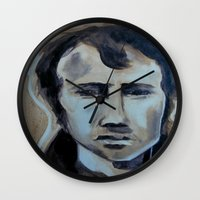 rogue Wall Clocks featuring Rogue by Talitha Etters