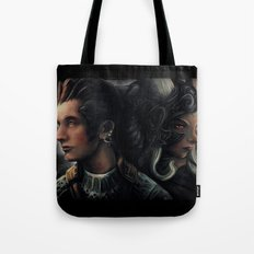 Balthier and Fran Final Fantasy 12 Portraits Tote Bag