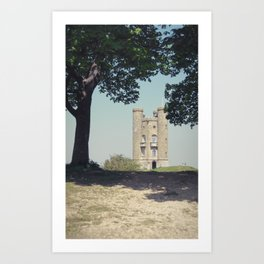 somebody'll see you up there... Art Print