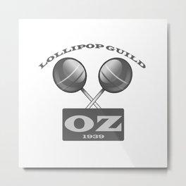 Lollipop Guild Metal Print