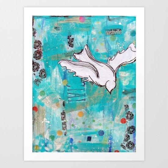 Fly Home Art Print