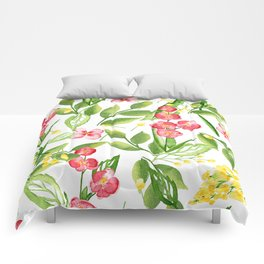 Orchid Jungle Comforters