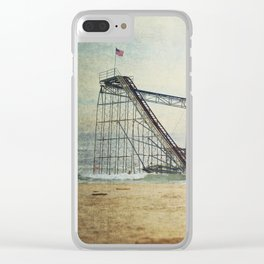 Jet Star Coaster Clear iPhone Case