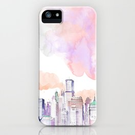 Pastel NYC iPhone Case