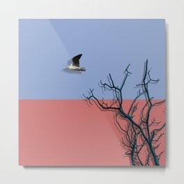 Bird fly Metal Print