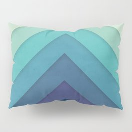 Retro Chevrons 001 Pillow Sham