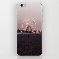 Farris Wheel at Night iPhone Skin