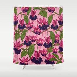 Fuchsias Shower Curtain