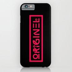 Originel rouge Slim Case iPhone 6s