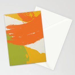 Colorful Brush Strokes AP176-11 Stationery Cards