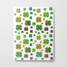Lucky Charms - Four Leaf Clover Metal Print
