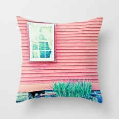 Past Perspective Throw Pillow