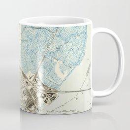 Vintage Map of Elizabeth NJ (1947) Coffee Mug