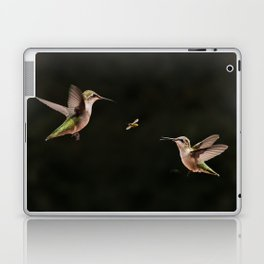 Hummingbirds and bee Laptop & iPad Skin