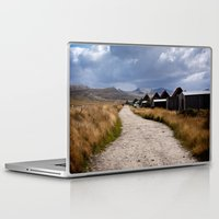 stanley kubrick Laptop & iPad Skins featuring The Stanley track by Paul J Davis Photography