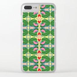 Watermelon Trip Clear iPhone Case