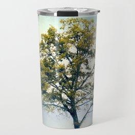 Pistachio Cotton Field Tree - Landscape Travel Mug