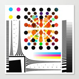 Test Pattern Canvas Print
